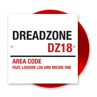Dreadzone Area Code Deep Red 12 Inch (Vinyl)
