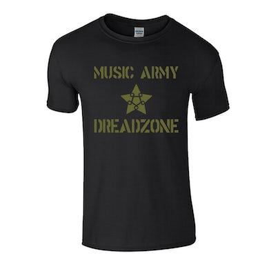 Dreadzone Music Army T-Shirt (Black)