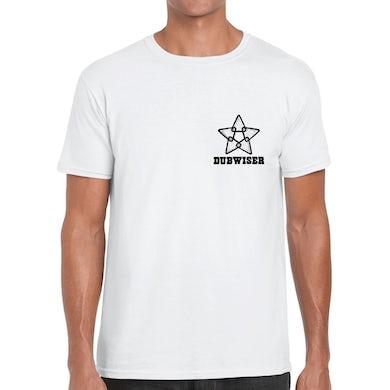 Dreadzone White Dubwiser Logo T-Shirt