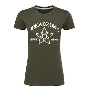 Dreadzone Music Army 2020 Ladies T-Shirt