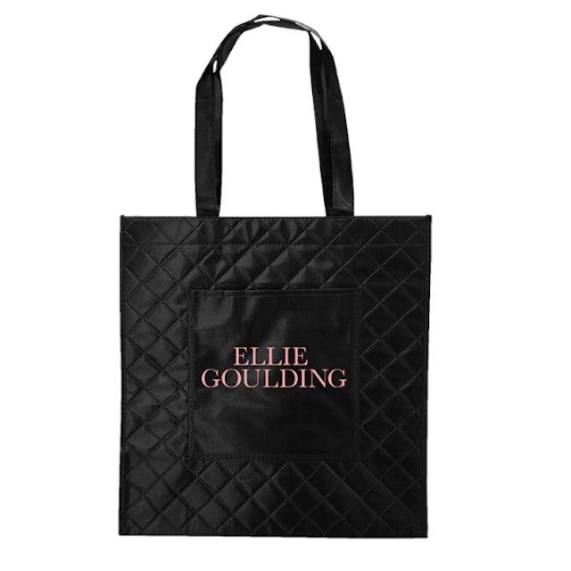 Ellie Goulding Quilted Logo Tote