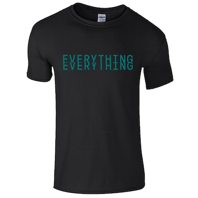 Everything Everything Black Logo T-Shirt