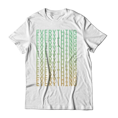 Everything Everything Stacked White T-Shirt