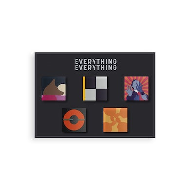 Everything Everything Set of 5 Badges
