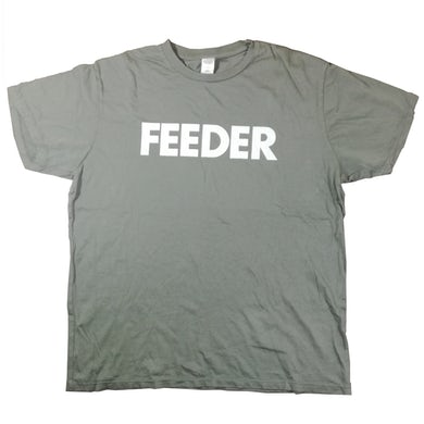 Feeder Logo White Print T-Shirt