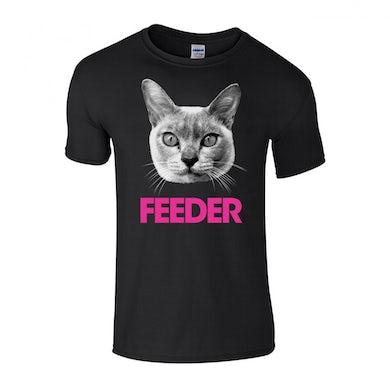 Feeder Pink Cat T-shirt