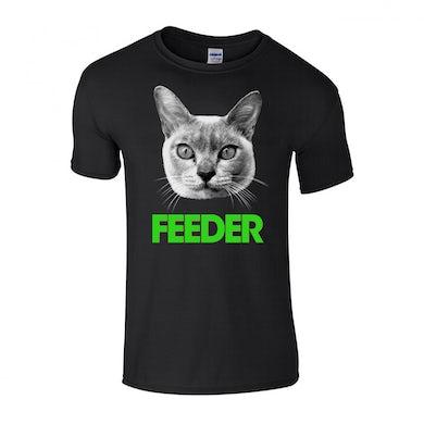 Feeder Green Cat T-Shirt