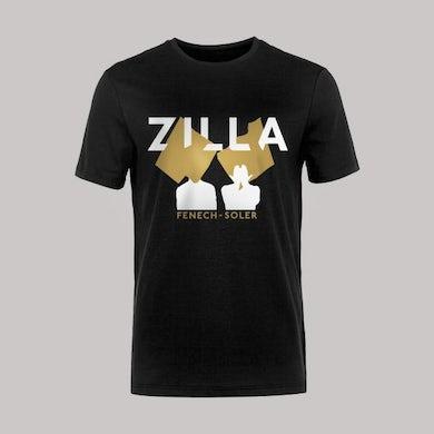 Fenech-Soler Zilla Silhouette Black T-Shirt