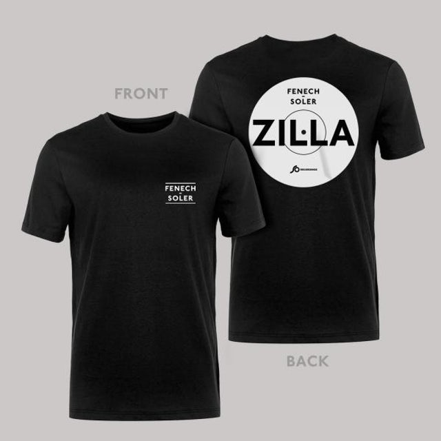 Fenech-Soler Zilla Black Vinyl Style T-Shirt