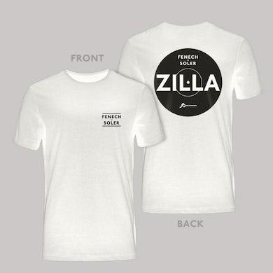Fenech-Soler Zilla White Vinyl Style T-Shirt