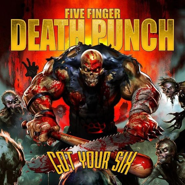 Five Finger Death Punch Got Your Six (First Pressing Only) CD