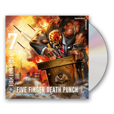 Five Finger Death Punch And Justice For None (Standard Edition) CD