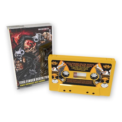Five Finger Death Punch And Justice For None Cassette