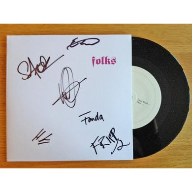 Folks Dirty Words / Nest (Signed) 7 Inch