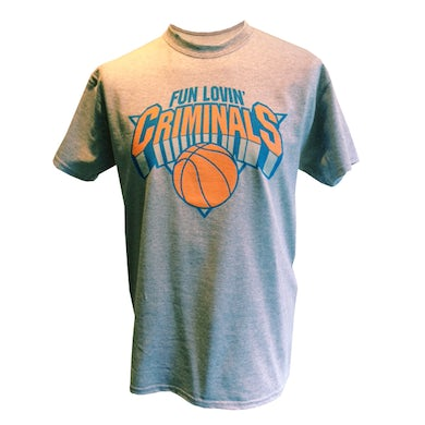 Fun Lovin Criminals Basketball T-Shirt