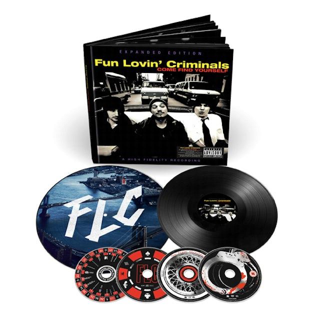 Fun Lovin Criminals Come Find Yourself (20th Anniversary Edition) Deluxe Boxset Boxset
