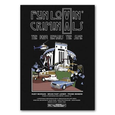 Fun Lovin Criminals Bong Remains The Same Ltd Edition Art Print (Signed)