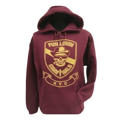 Fun Lovin Criminals Skull Hooded Sweatshirt