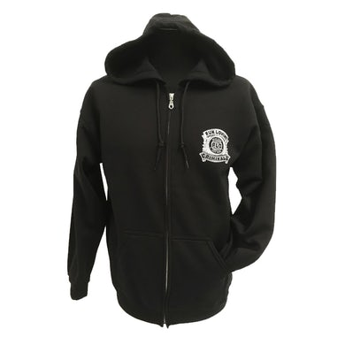 Fun Lovin Criminals Police Badge Zip Hooded Sweatshirt