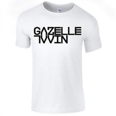 Gazelle Twin White  (Unflesh) Logo T-Shirt