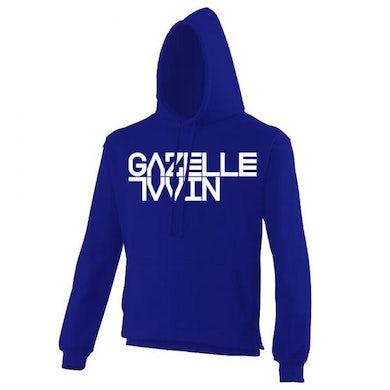 Gazelle Twin Logo (Unflesh) Royal Blue Hoody