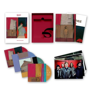 Gomez Bring It On: 20th Anniversary 4CD Set Boxset