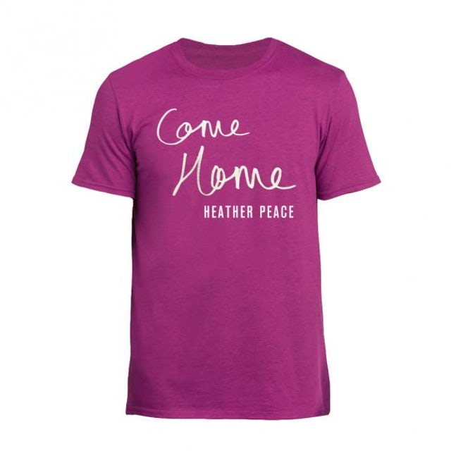 Heather Peace Pink Come Home T-Shirt