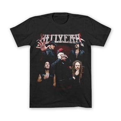2015 Official Hellyeah Photo Tour T-Shirt
