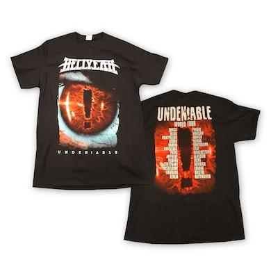 Hellyeah Undeniable Tour T-Shirt