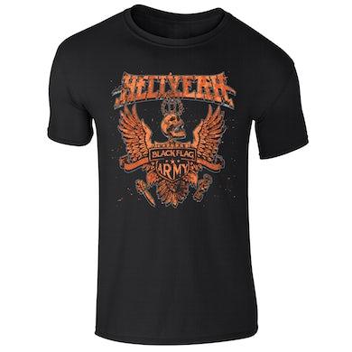 Hellyeah Black Flag Army T-Shirt