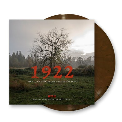 Ipecac Recordings 1922 (Original Motion Picture Soundtrack) Hardwood Coloured LP (Vinyl)