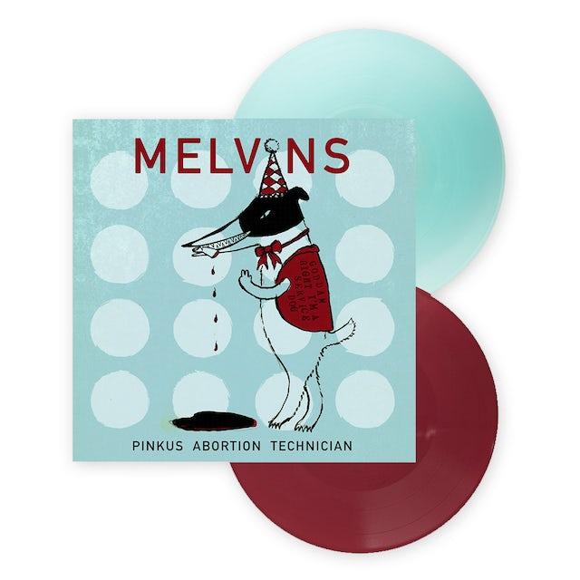 Ipecac Recordings Pinkus Abortion Technician Double Electric Blue/Oxblood Coloured Double LP (Vinyl)