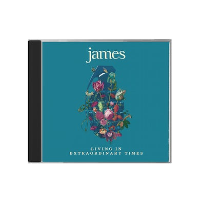 James Living In Extraordinary Times CD