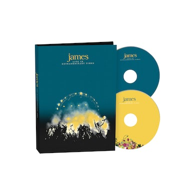 James LIVE In Extraordinary Times Deluxe Deluxe CD