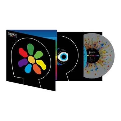 James All The Colours Of You Splatter Double Heavyweight LP (Vinyl)