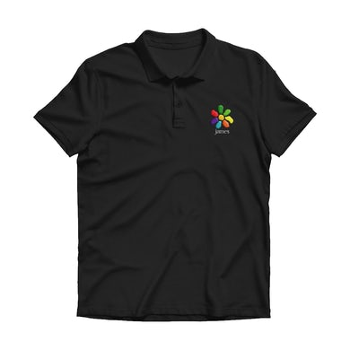 James All The Colours Of You Embroidered Polo Shirt