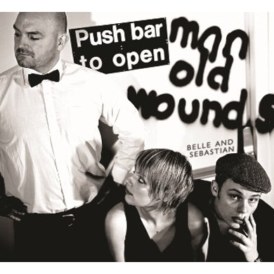Jeepster Push Barman To Open Old Wounds CD