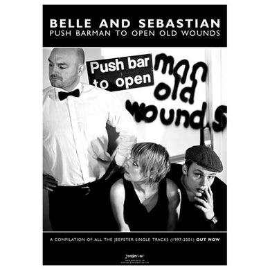 Jeepster Push Barman To Open Old Wounds 42 x 30cm Poster