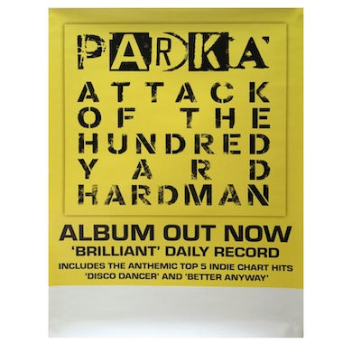 Jeepster Attack Of The Hundred Yard Hardman 42 x 30cm Poster