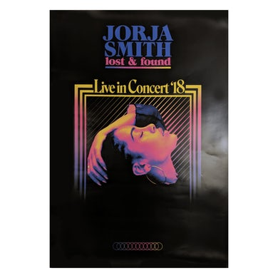 Jorja Smith Live In Concert '18 Tour A2 Poster