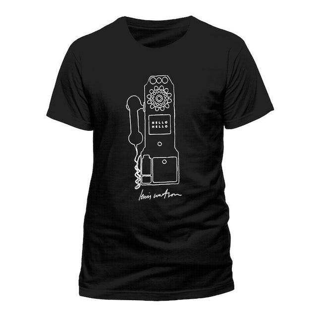 Lewis Watson Phone Black T-Shirt