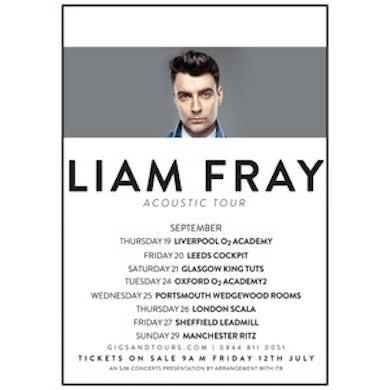 Liam Fray Tour Poster