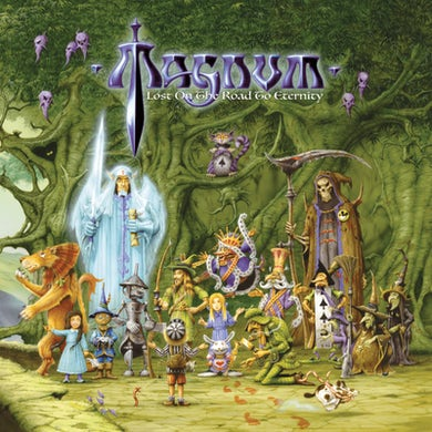 Magnum Lost On The Road To Eternity CD