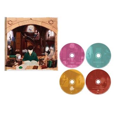 Mansun SIX 4-Disc Deluxe Book Deluxe CD