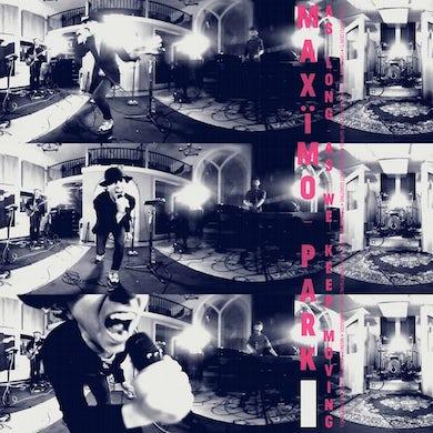 Maximo Park As Long As We Keep Moving Transparent LP (Vinyl)