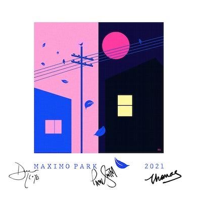 Maximo Park Signed 12x12 Print