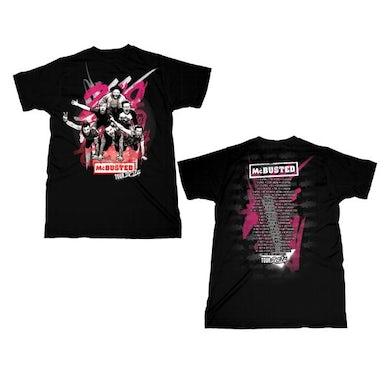 McBusted 2014 Tour Black Unisex T-Shirt