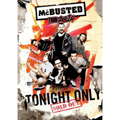 McBusted 2014 A2 Tour Poster