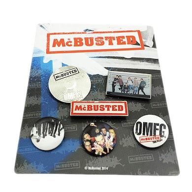 McBusted 2014 Tour Badge Set