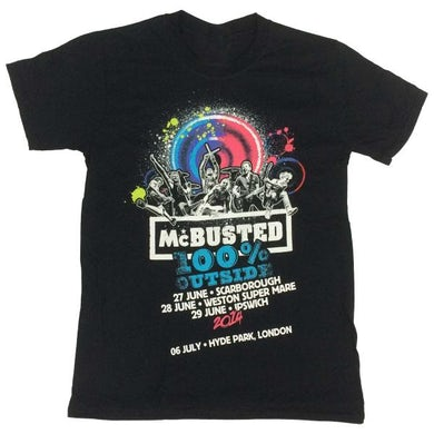 McBusted 100% Outside Tour T-Shirt